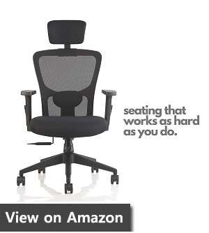 Innowin Jazz Mid Back Mesh Ergonomic Office Chair Review